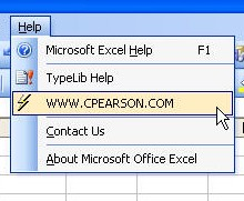 Pearson Software Consulting, LLC, Comprehensive Excel Information