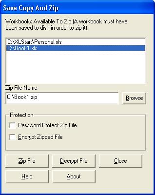 SaveCopyAndZip Add-In