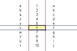Rowliner para Excel